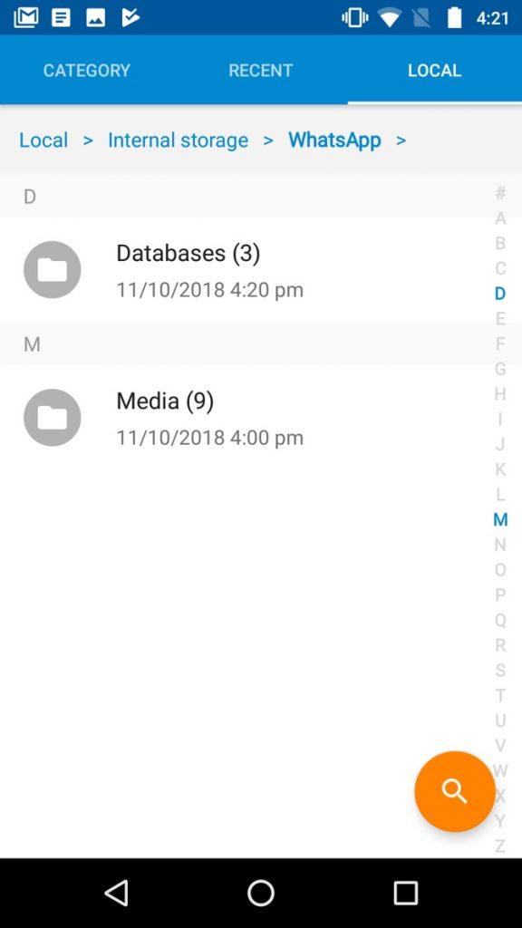 Screenshot: Schritt 1